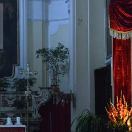 Marigliano, chiesa Collegiata - Statua di San Sebastiano