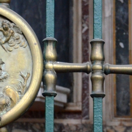 Marigliano, chiesa Collegiata - Effigie di San Sebastiano